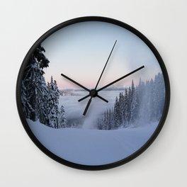 Creating clouds?  Wall Clock