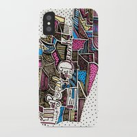 drunk iPhone & iPod Cases featuring drunk by Mariana Beldi