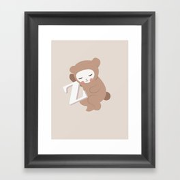 Waiting for Z Framed Art Print
