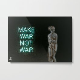Neon Venus Metal Print