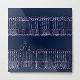 stitched gate Metal Print
