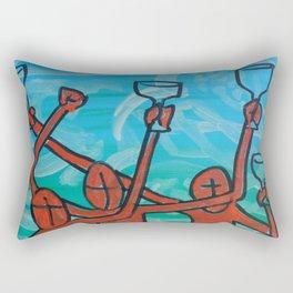 To Arms Rectangular Pillow