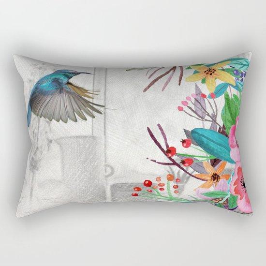 Flowers bouquet #11 Rectangular Pillow