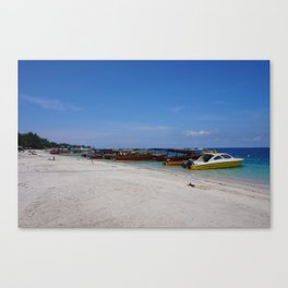 Gili T Beach #2 Canvas Print