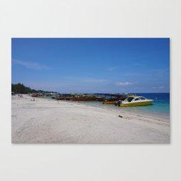 Gili T Beach #2 Canvas Print