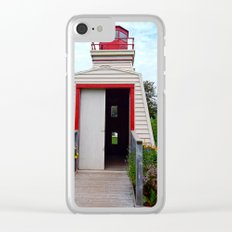 Lighthouse Shed Clear iPhone Case