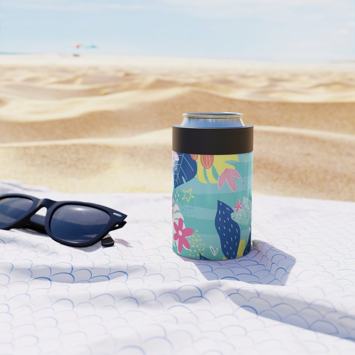 Tropical Vibes Can Cooler