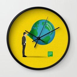 Don't Blow It Wall Clock