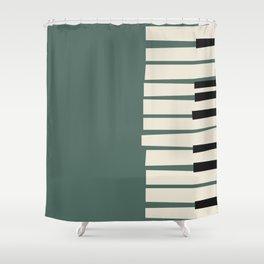 Vintage poster-Jazz festival-Willisau 76. Shower Curtain