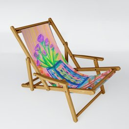 Flowers at Dawn Sling Chair