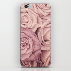 Some people grumble - Pink rose pattern- roses iPhone Skin