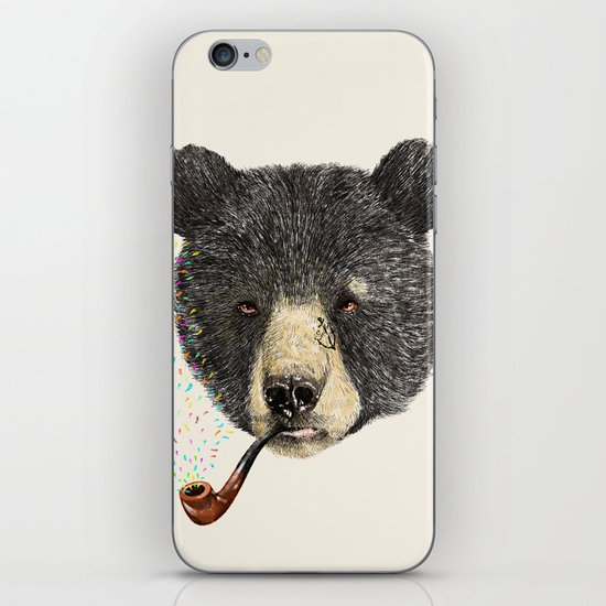 BLACK BEAR SAILOR iPhone Skin