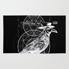 The Raven dark Rug