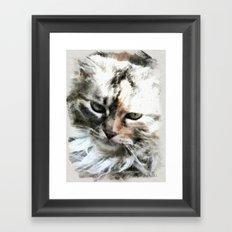Darling 'Kitty' Framed Art Print