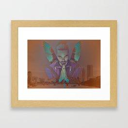 The Porotector Framed Art Print