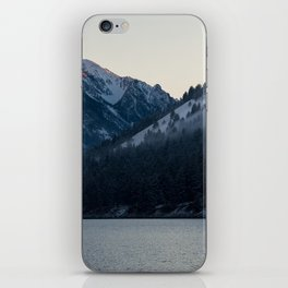 Last Light at Wallowa Lake Oregon iPhone Skin