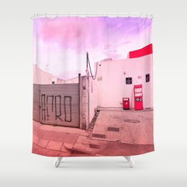 Gas Station Shower Curtain