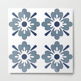 Floral pattern 2 Metal Print