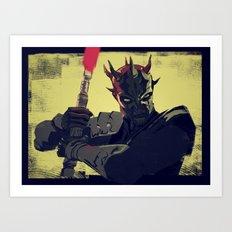 Savage Opress Art Print
