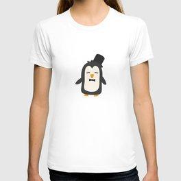 Penguin with suit   T-shirt
