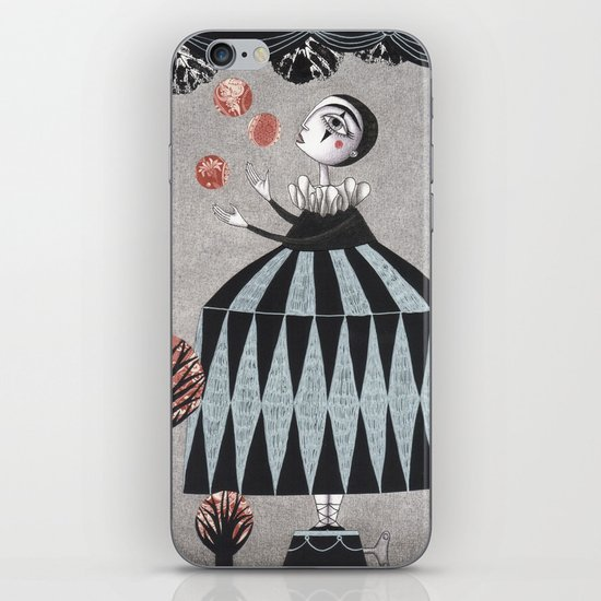 The Juggler's Hour iPhone & iPod Skin