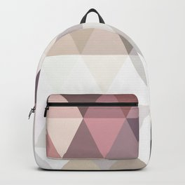 PINK AND GREY Backpack