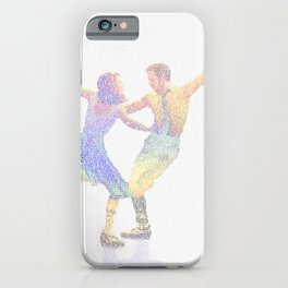 La la Land Typographic Screenplay Print iPhone Case