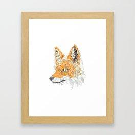 GeoFox Framed Art Print