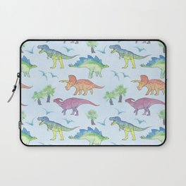 DINOSAURS!, painting by Frank-Joseph Laptop Sleeve