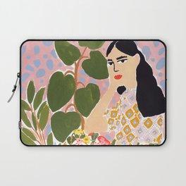 Botanical Lady Laptop Sleeve