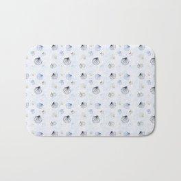 Shell Pattern Bath Mat
