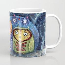 Dia de Muertos Owl Party Coffee Mug