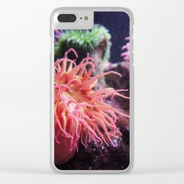 Enemy Anemone Clear iPhone Case