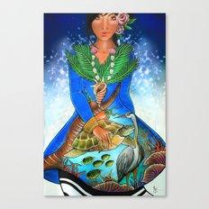 maldivian Canvas Print