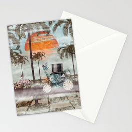 Alice Goes to California Stationery Cards