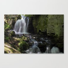 Waterfall at Lumsdale II Canvas Print
