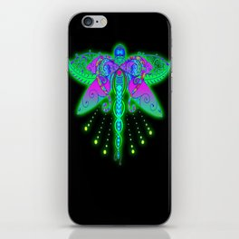 Colorful Reflections of Time iPhone Skin
