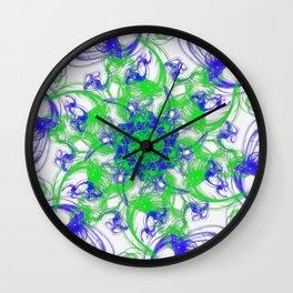 Symmetrical Swirl Wall Clock