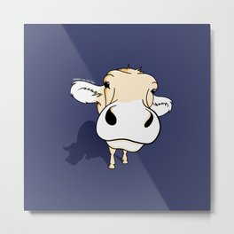 your friend 'Cow' Metal Print