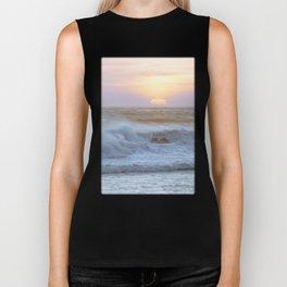 Pacific Ocean Seascape #71 by Murray Bolesta Biker Tank