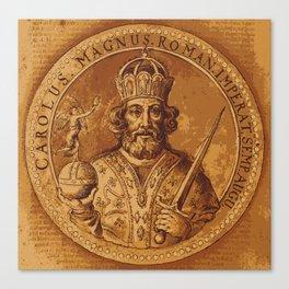 Carolus Magnus - Charlemagne Canvas Print