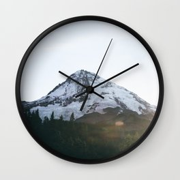 Mount Hood XVII Wall Clock