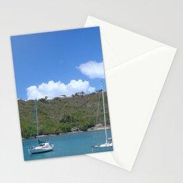 Boats  Stationery Cards
