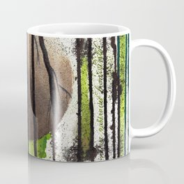 nature subtracted from world Coffee Mug