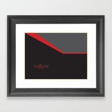 The A Team Framed Art Print