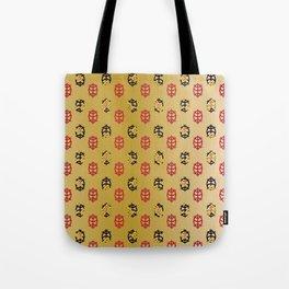 Traditional Japanese pattern KORIN-GAME Tote Bag
