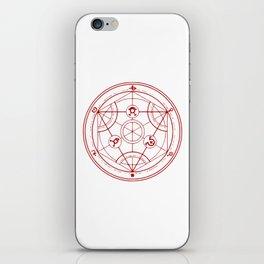 Alchemist Circle - Full Metal iPhone Skin