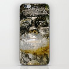 Big Taino's Face Sculpture in Quebradillas iPhone & iPod Skin