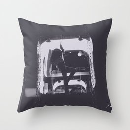 midnight shift Throw Pillow