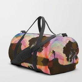 Freedom and rainbow Duffle Bag
